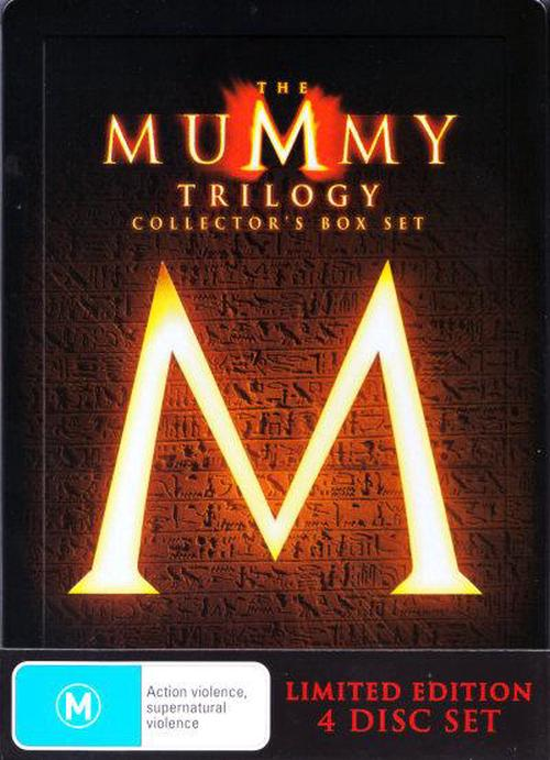 The Mummy Trilogy (The Mummy  / The Mummy Returns  / The Mummy: Tomb Of The Dragon Emperor) (4 Disc Steelbook w Bonus Disc)