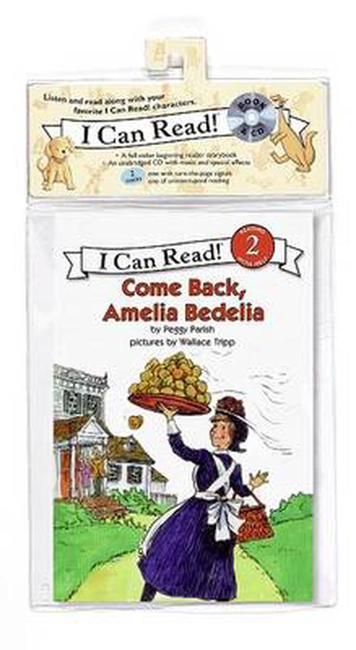 Come Back, Amelia Bedelia [With CD (Audio)]