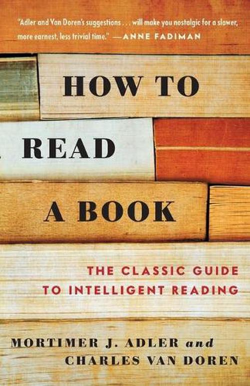 How to Read a Book