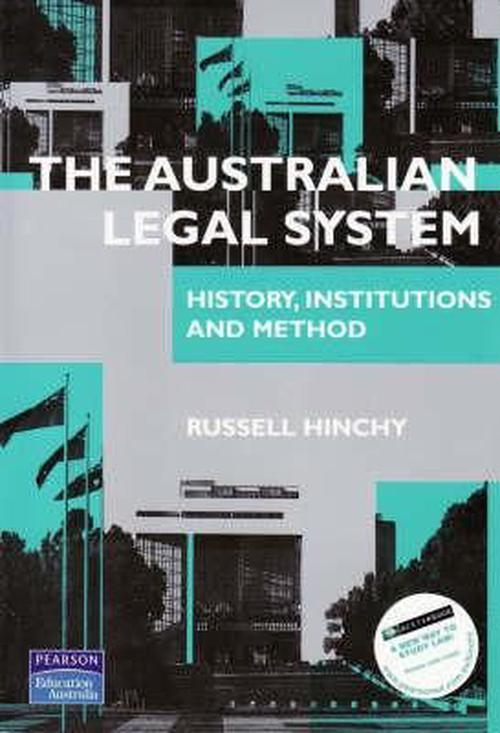 the australian legal system Course title: introduction to the australian legal system and legal methods part a: course overview course title: introduction to the australian legal system and legal methods.