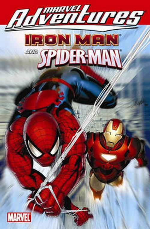 Marvel Adventures Iron Man Spider-man