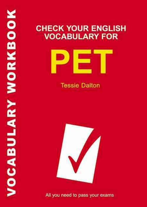 Check Your English Vocabulary for PET