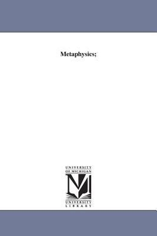Metaphysics;