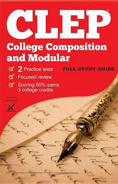 clep english composition essays 8 chapters in clep college composition modular: study guide & test prep study types of essays which sponsors the college-level examination program.