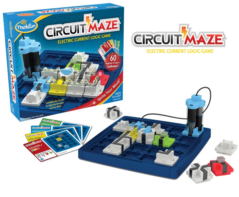 ThinkFun Circuit Maze Game | Buy online at The Nile