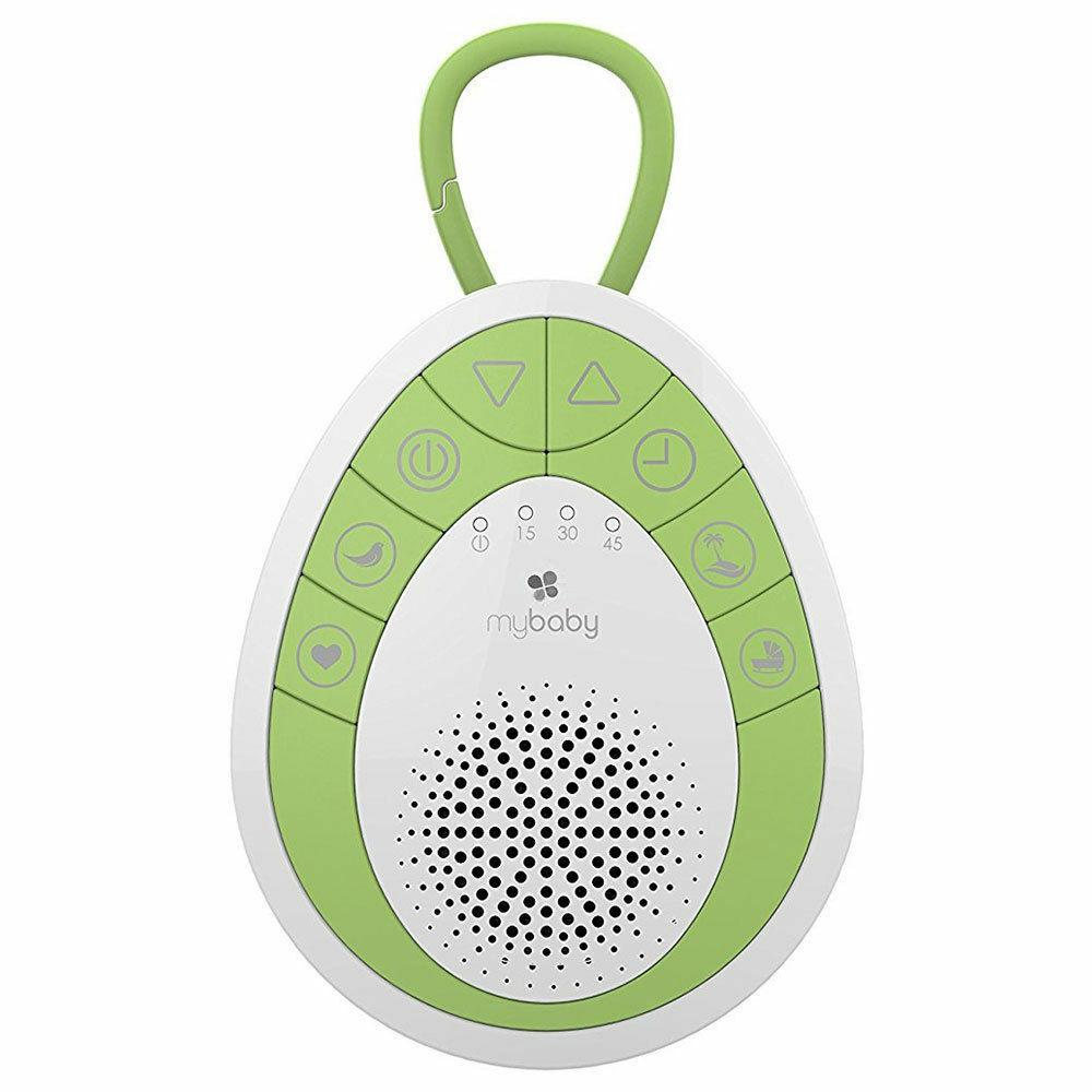 Mybaby By Homedics MyBaby SoundSpa On The Go Soother (Green & White)