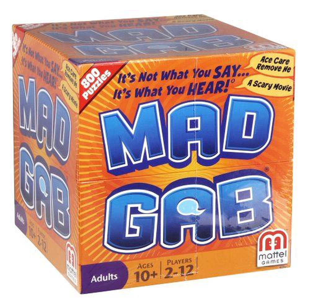 Mattel Mad Gab Game Buy Online At The Nile