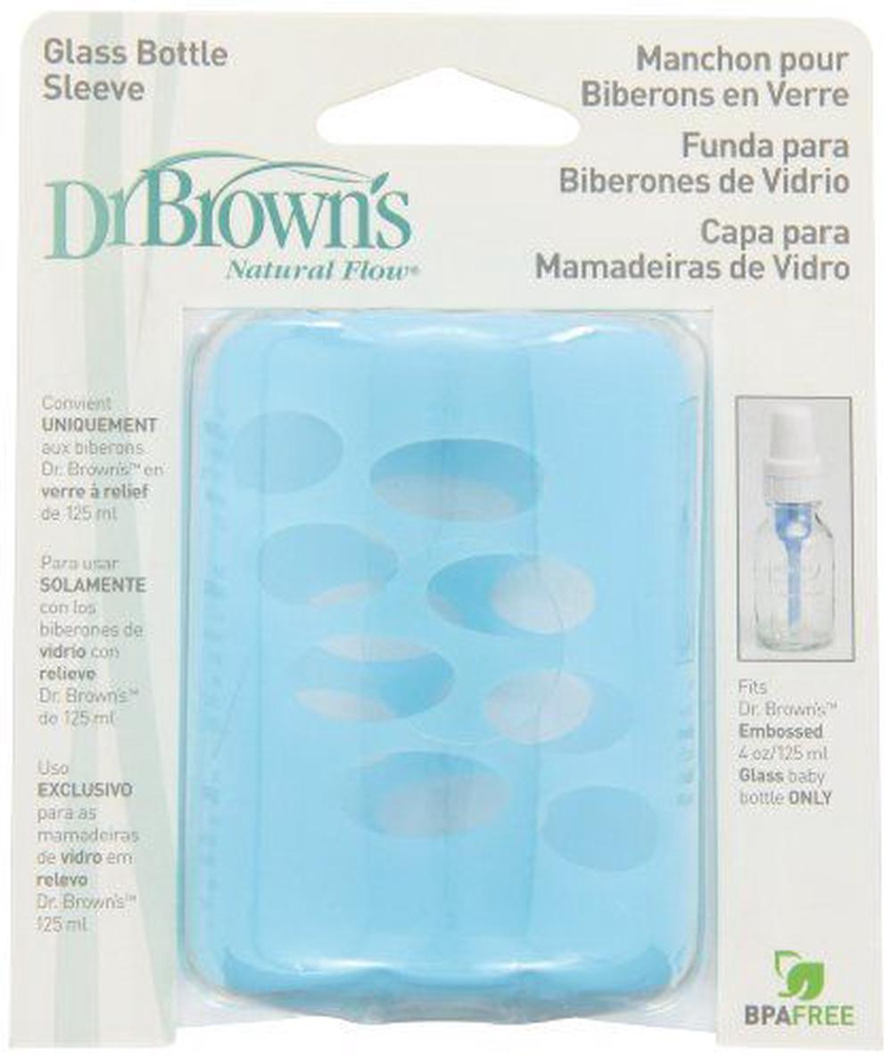 Dr Browns Glass Bottle Sleeve Blue 118ml Buy Online At The Nile Drbrowns Pacifier Wipes 30 Pack