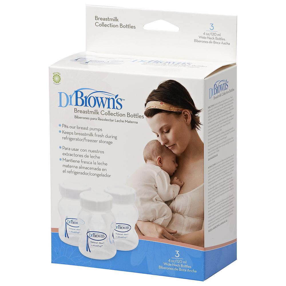 Dr Browns Breastmilk Collection Bottles 3 Pack Buy Online At Drbrowns Pacifier Bottle Wipes 30 By