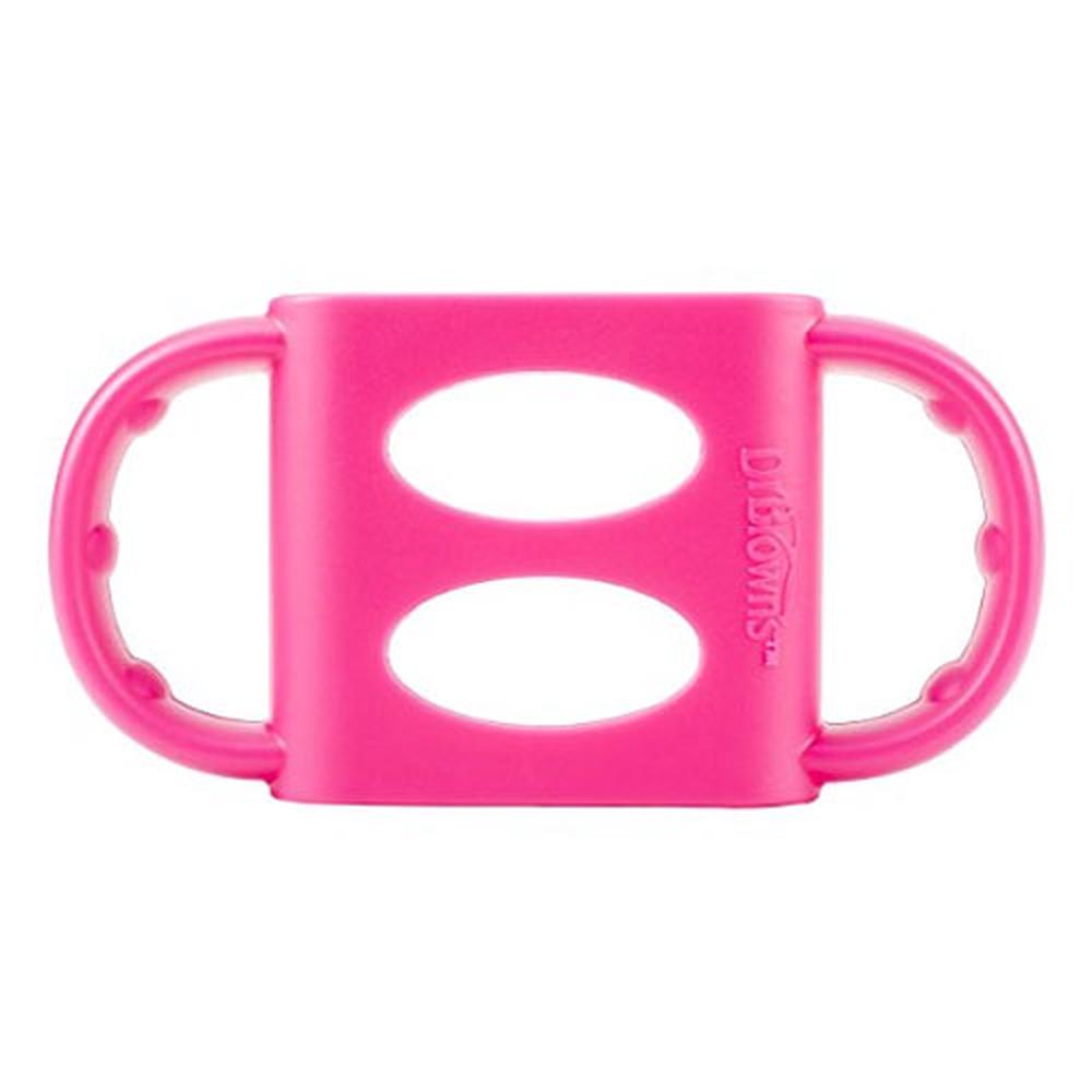 Dr. Brown's Narrow Neck Silicone Handles (Pink)