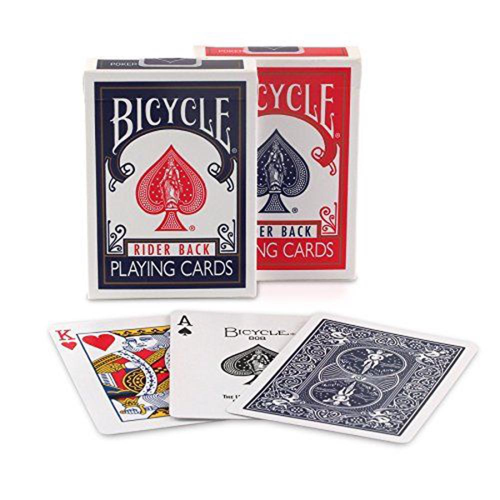 Bicycle Rider Back Index Playing Cards (Assorted Colors, Single Pack)