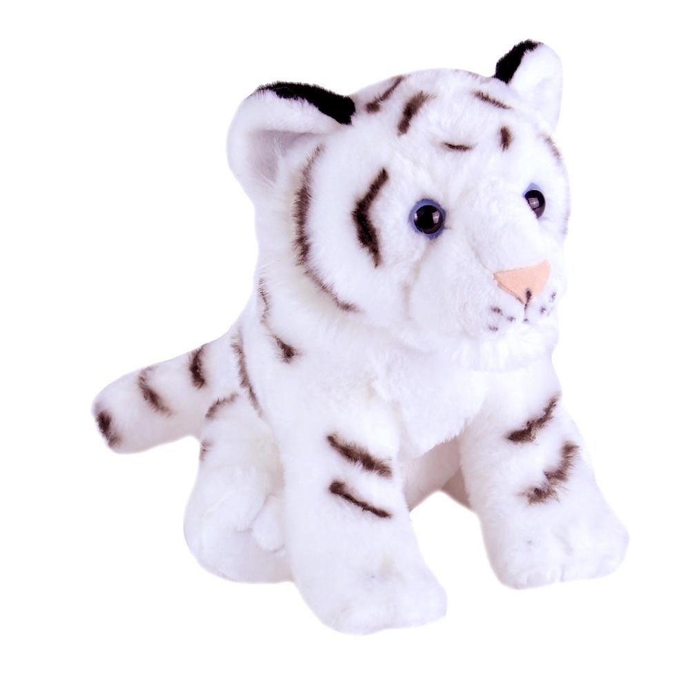Wild Republic Cuddlekins Baby Stuffed Animal (White Tiger)