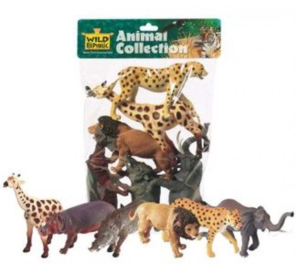 Wild Republic Polybag African Animals 6 Pieces