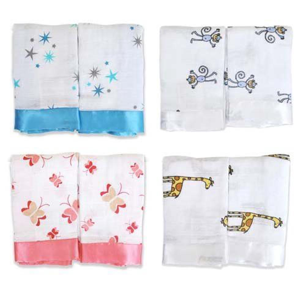 a277c2d6e3 aden + anais 2 Pack Muslin Issie Security Blanket