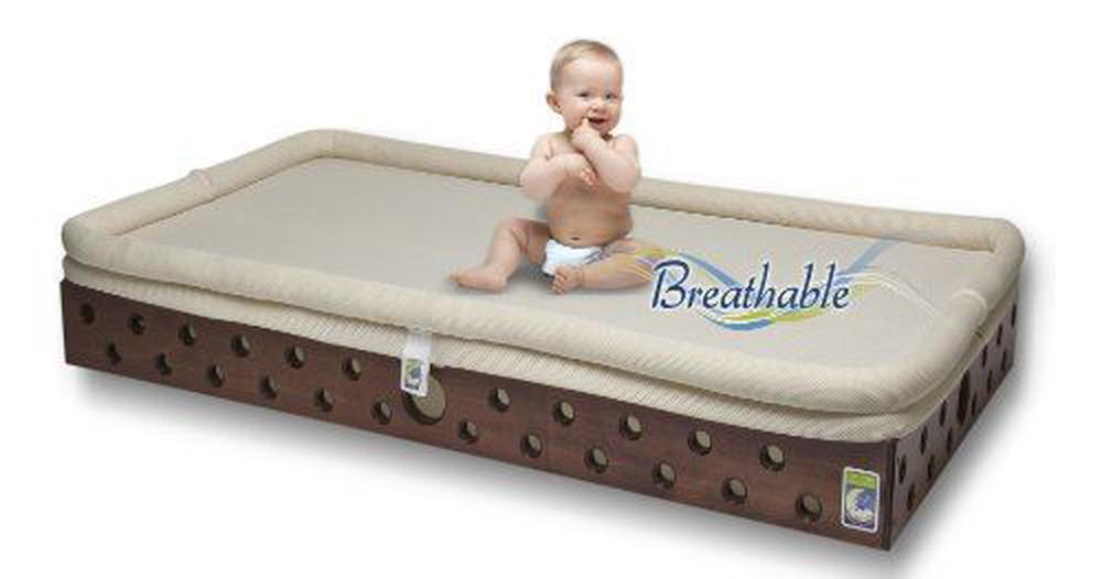 Secure Beginnings Heaven Sent Breathable Crib Mattress