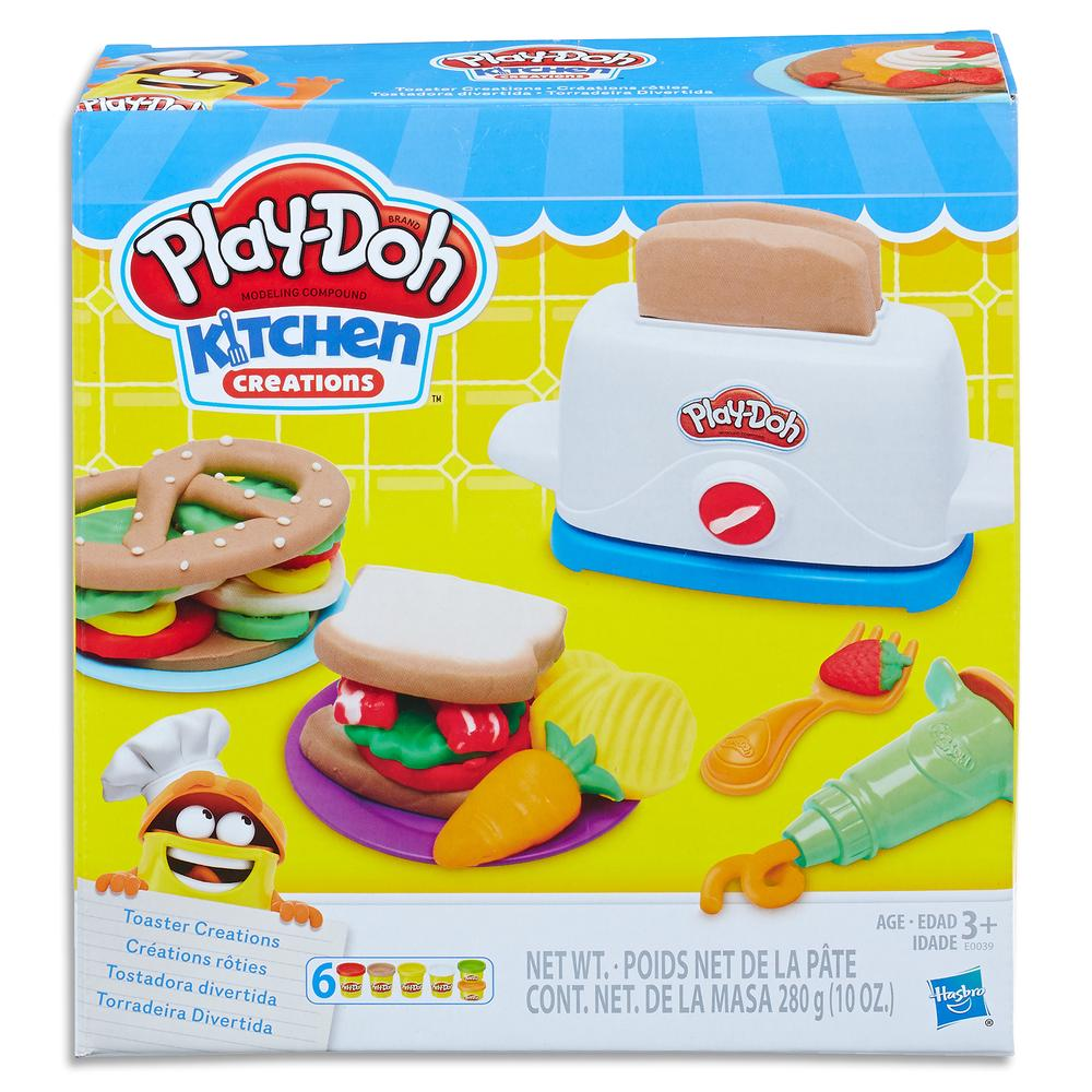 Play Doh Kitchen Creations Toaster Set Buy Online At The Nile