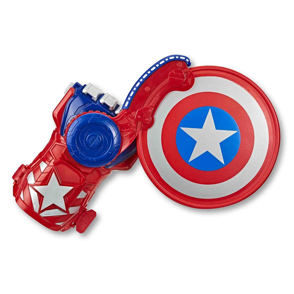 Nerf Power Moves Marvel Avengers - Captain America Shield Sling
