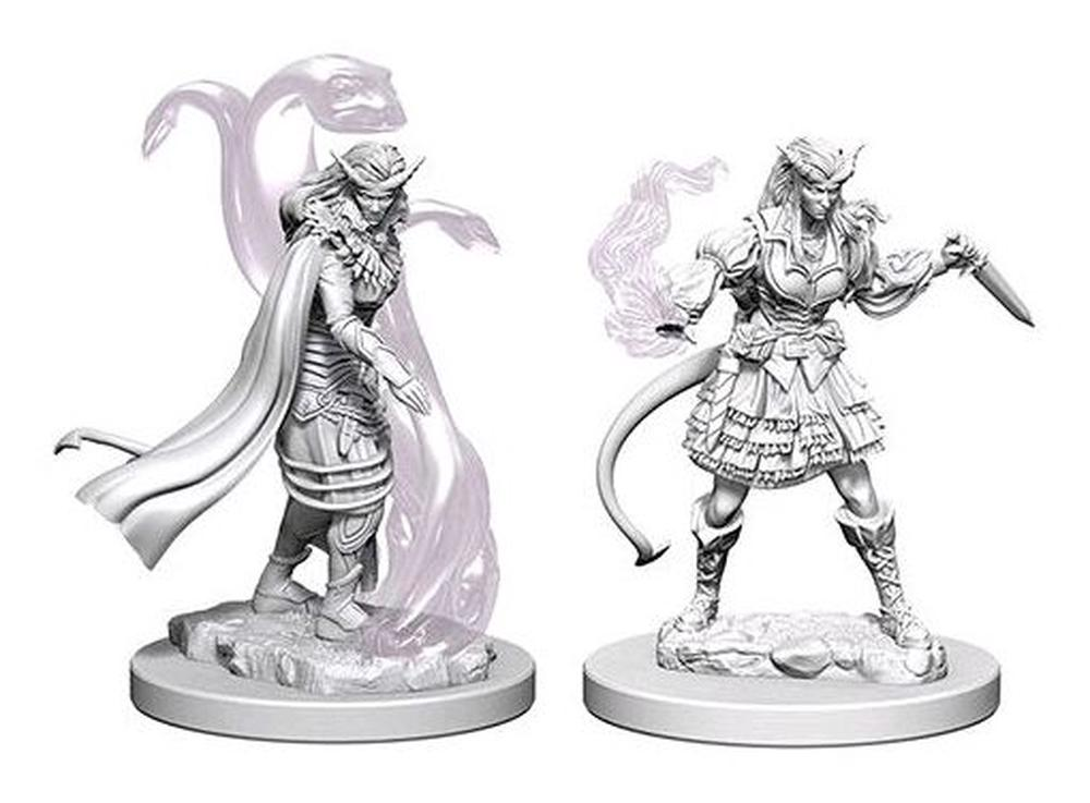 Image result for tiefling sorcerer unpainted