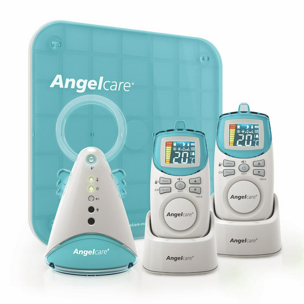 Angelcare Baby Sound & Movement Monitor With 2 Parent Units AC402P