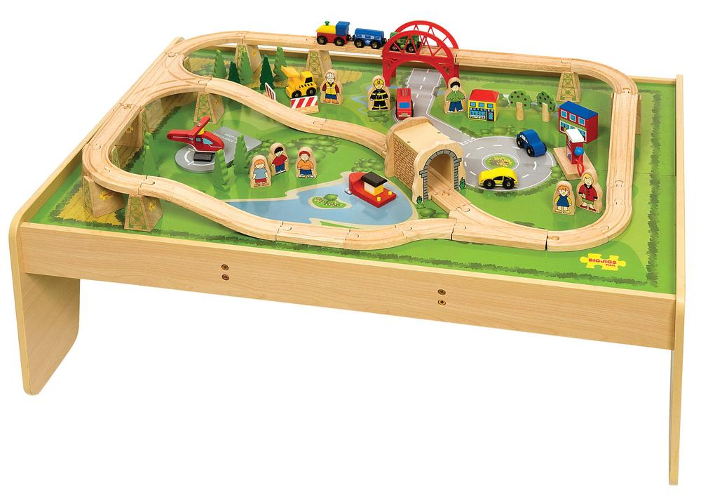 Bigjigs Train And Play Table Set Buy Online At The Nile