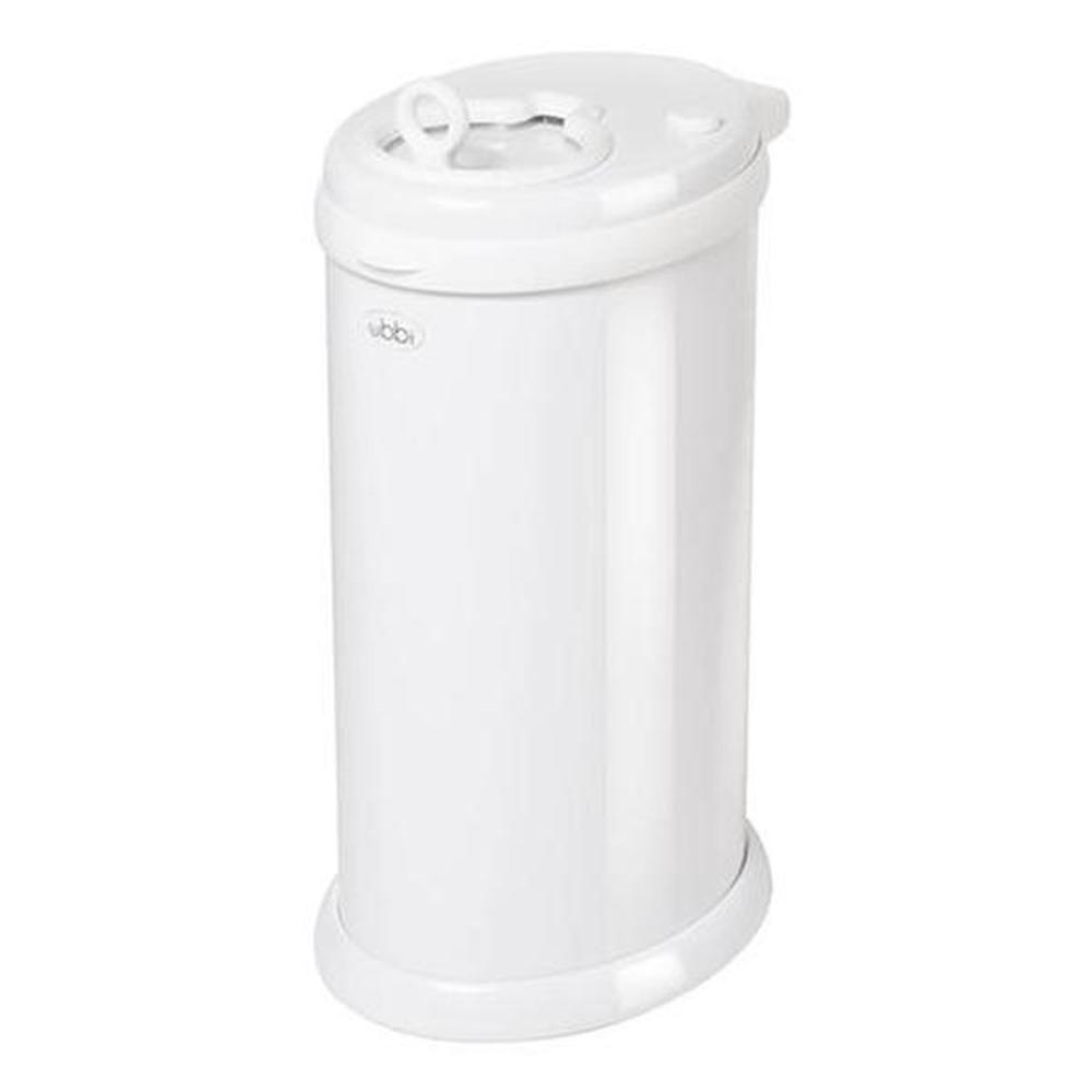 Ubbi Steel Nappy Disposal System (White)