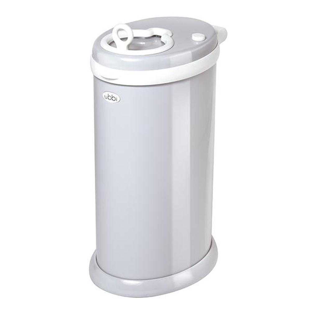 Ubbi Steel Nappy Disposal System (Grey)