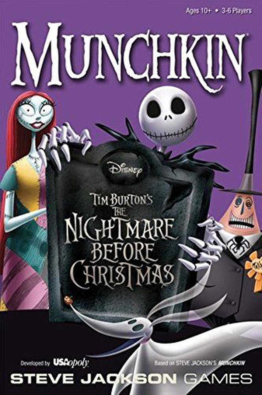 USAopoly Munchkin Nightmare Before Christmas Card Game | Buy online ...