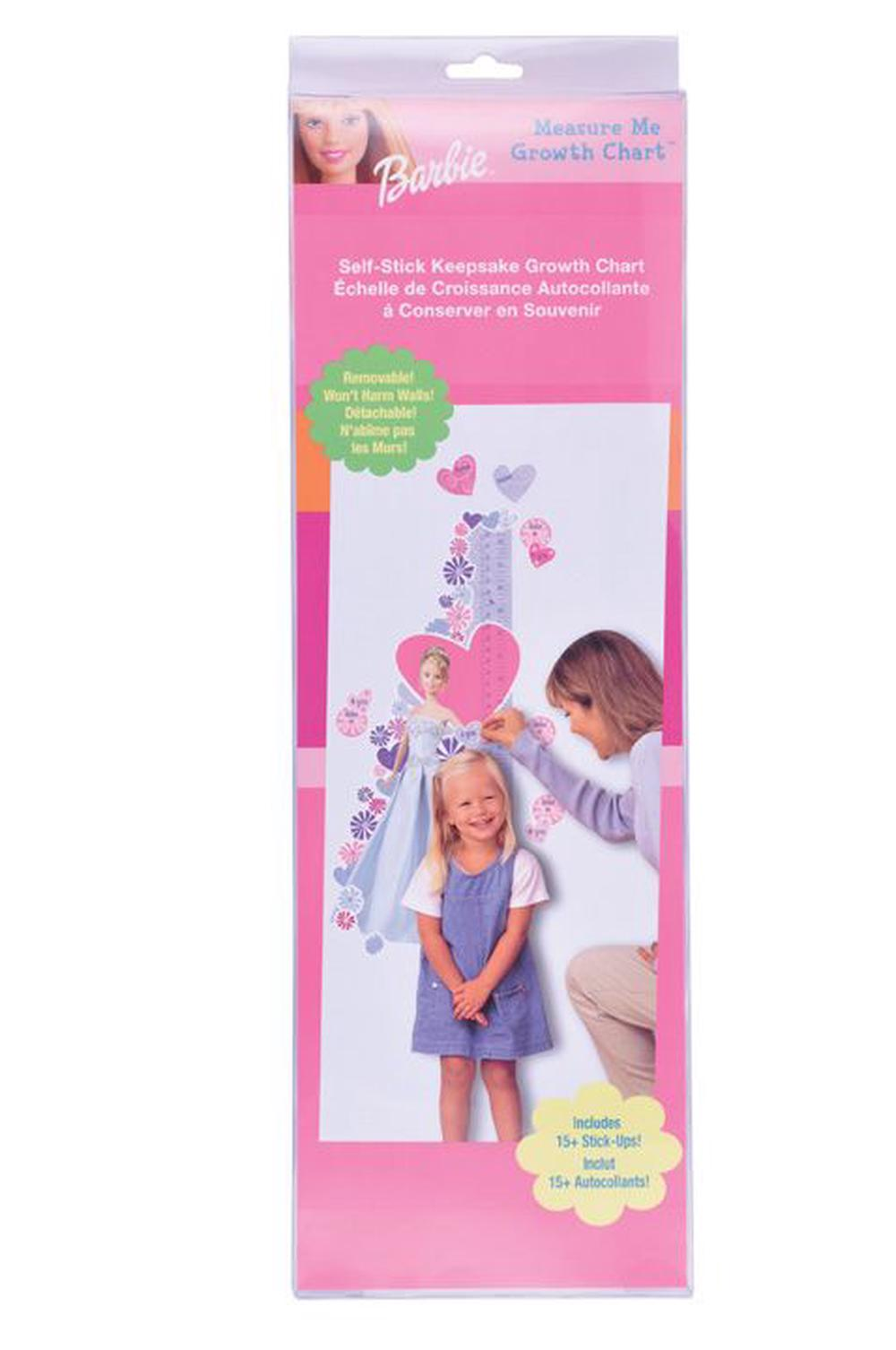 Priss Prints Barbie Glamour Growth Chart Buy Online At The Nile