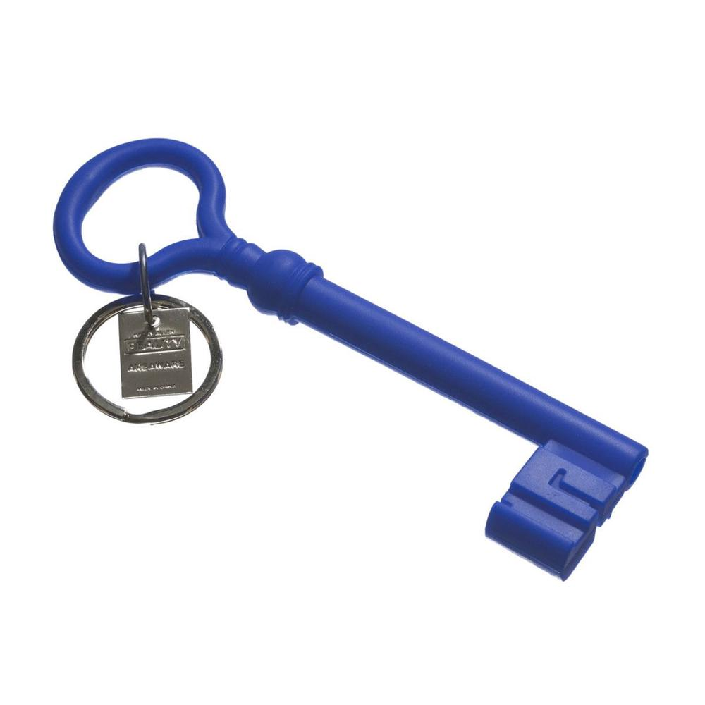 Areaware Key Keychain (Blue)
