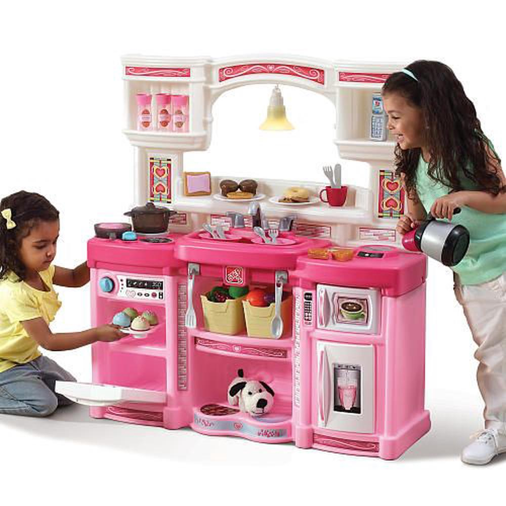 Kitchen Set For New Home: Step2 Just Like Home Rise And Shine Kitchen - Pink
