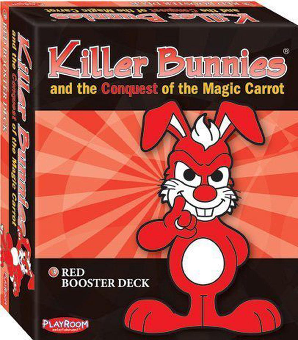 Playroom Entertainment Killer Bunnies - Conquest Booster Deck (Red)