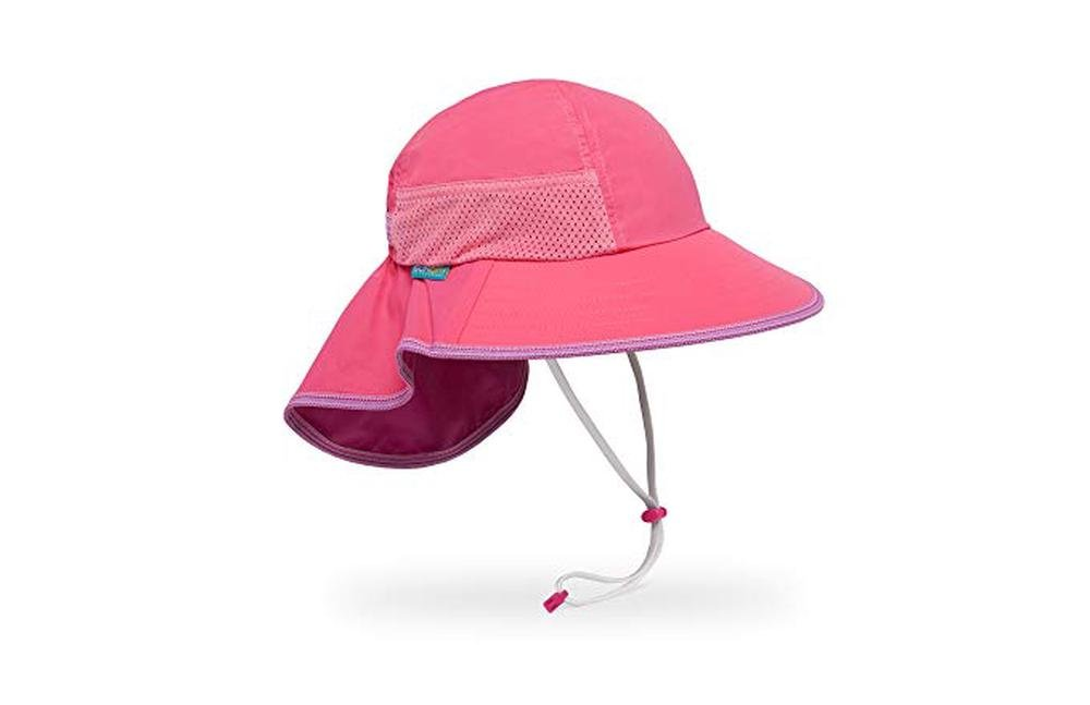 Sunday Afternoons Kids Play Hat (Hot Pink) - Large
