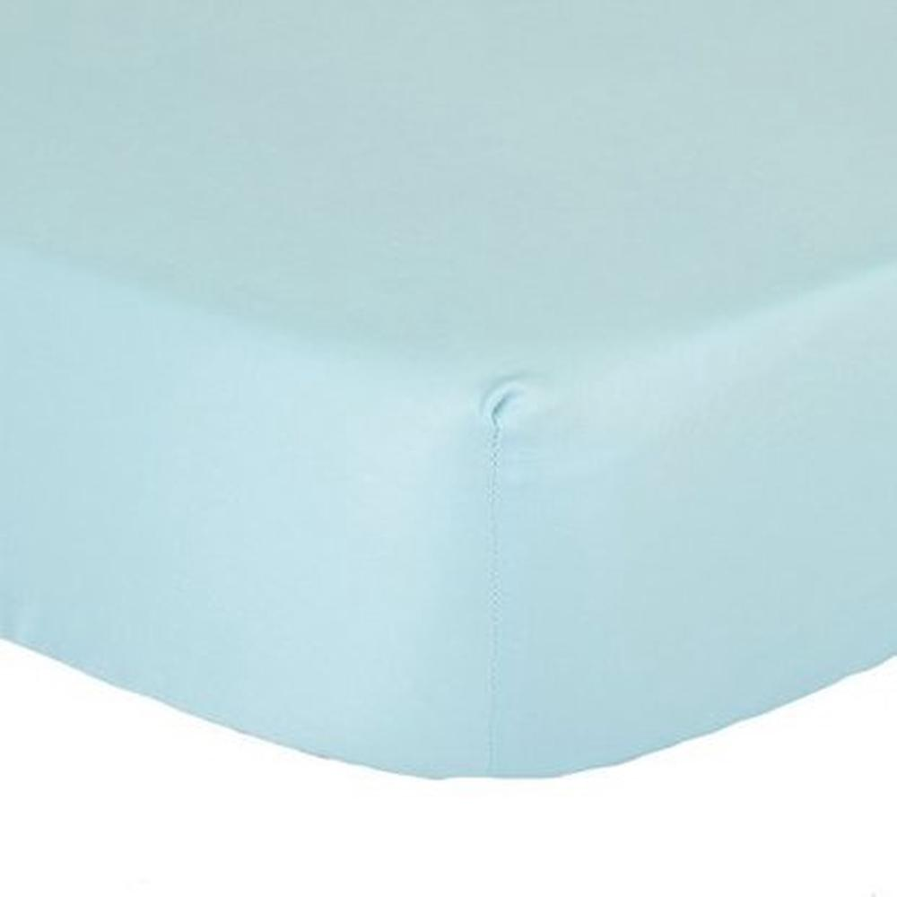 The Peanut Shell Cradle Solid Sheet (Light Blue)