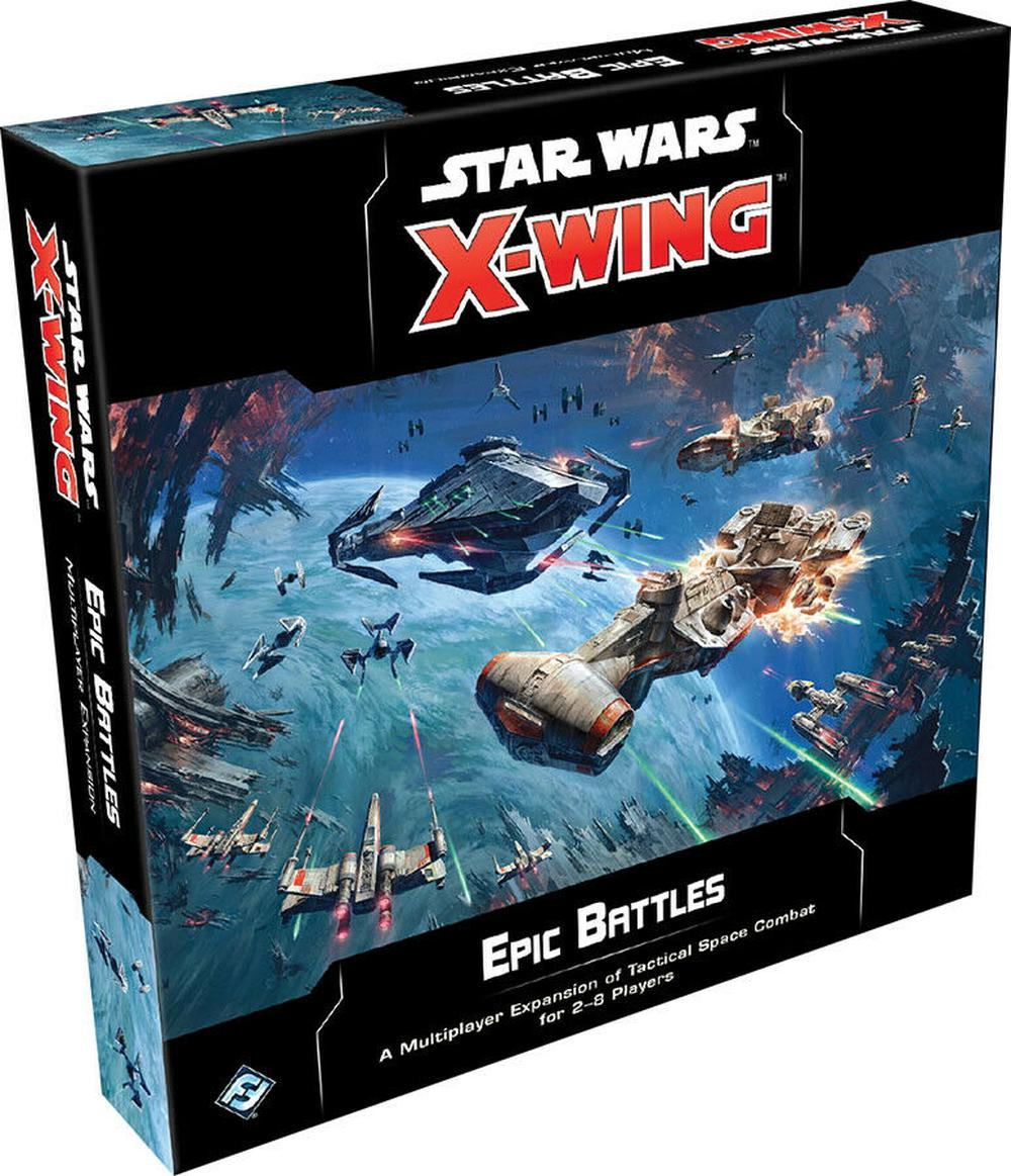 Asmodee Star Wars X-Wing 2nd Edition: Epic Battles Multiplayer Expansion