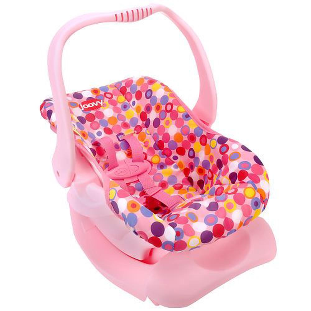 Joovy Toy Car Seat - Pink Dot | Buy online at The Nile