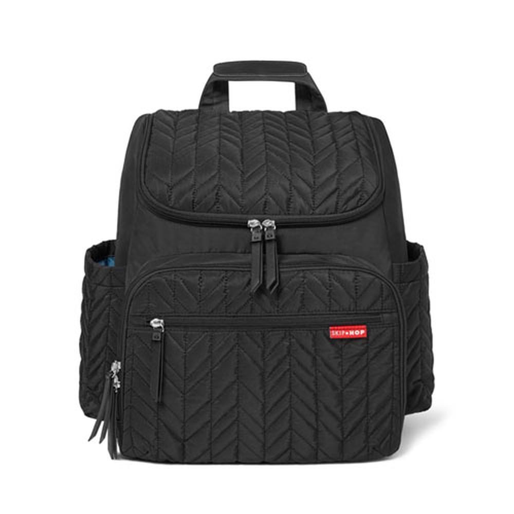 Skip Hop Forma Nappy Bag Backpack (Jet Black)
