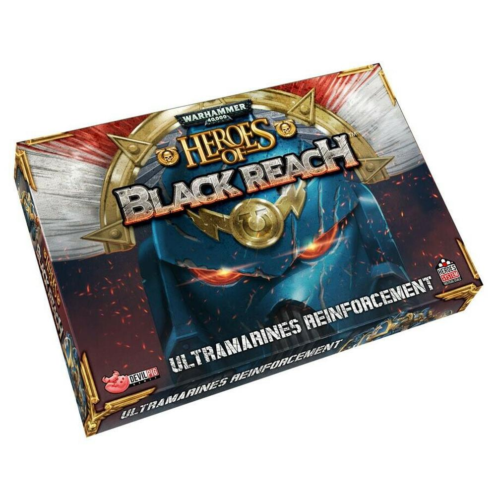 IELLO Warhammer 40k: Heroes of Black Reach Ultramarine Reinforcements