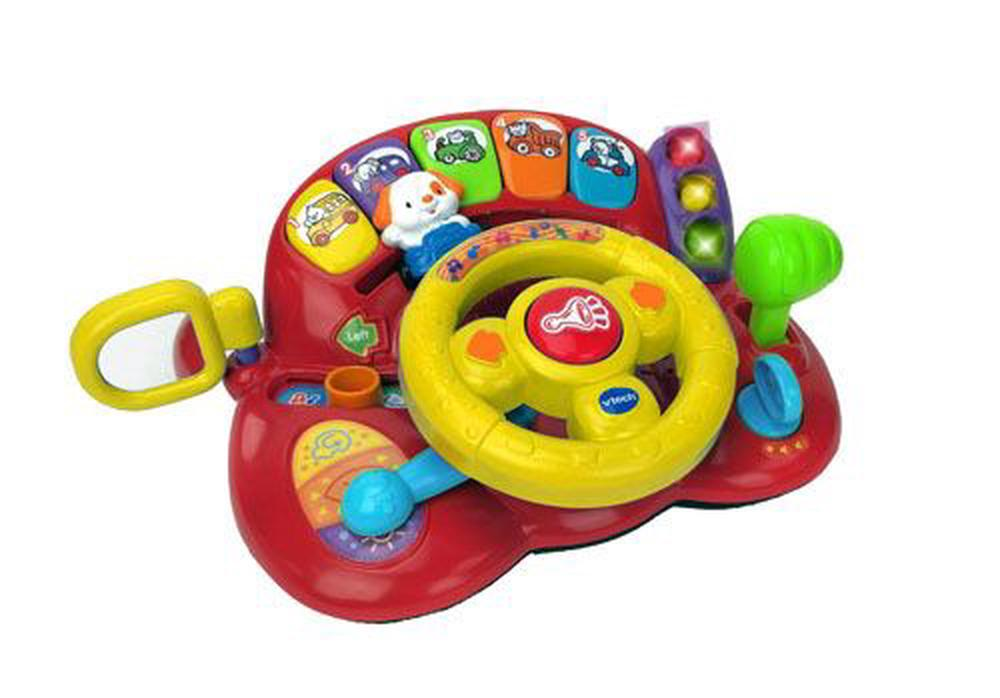 VTech Toys Tiny Tot Driver Steering Wheel