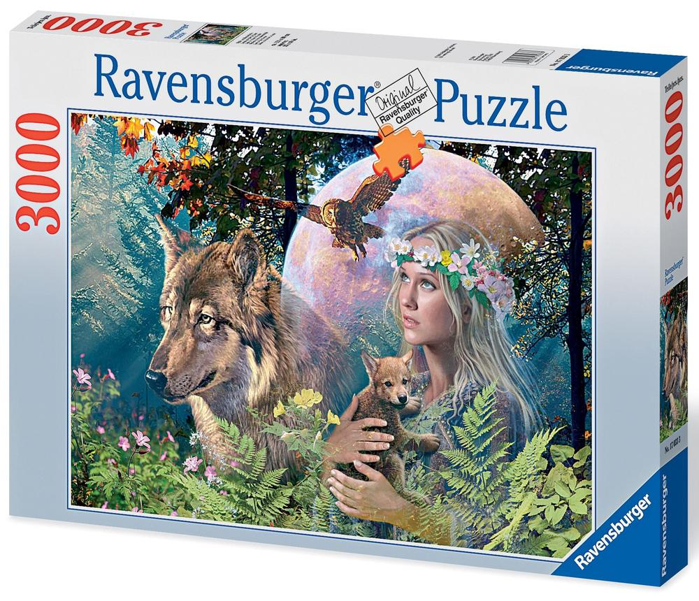 ravensburger lady of the forest puzzle 3000 pieces buy online at
