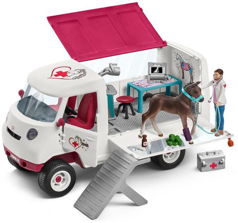 Schleich Horse Club (Mobile Vet With Hanoverian Foal)