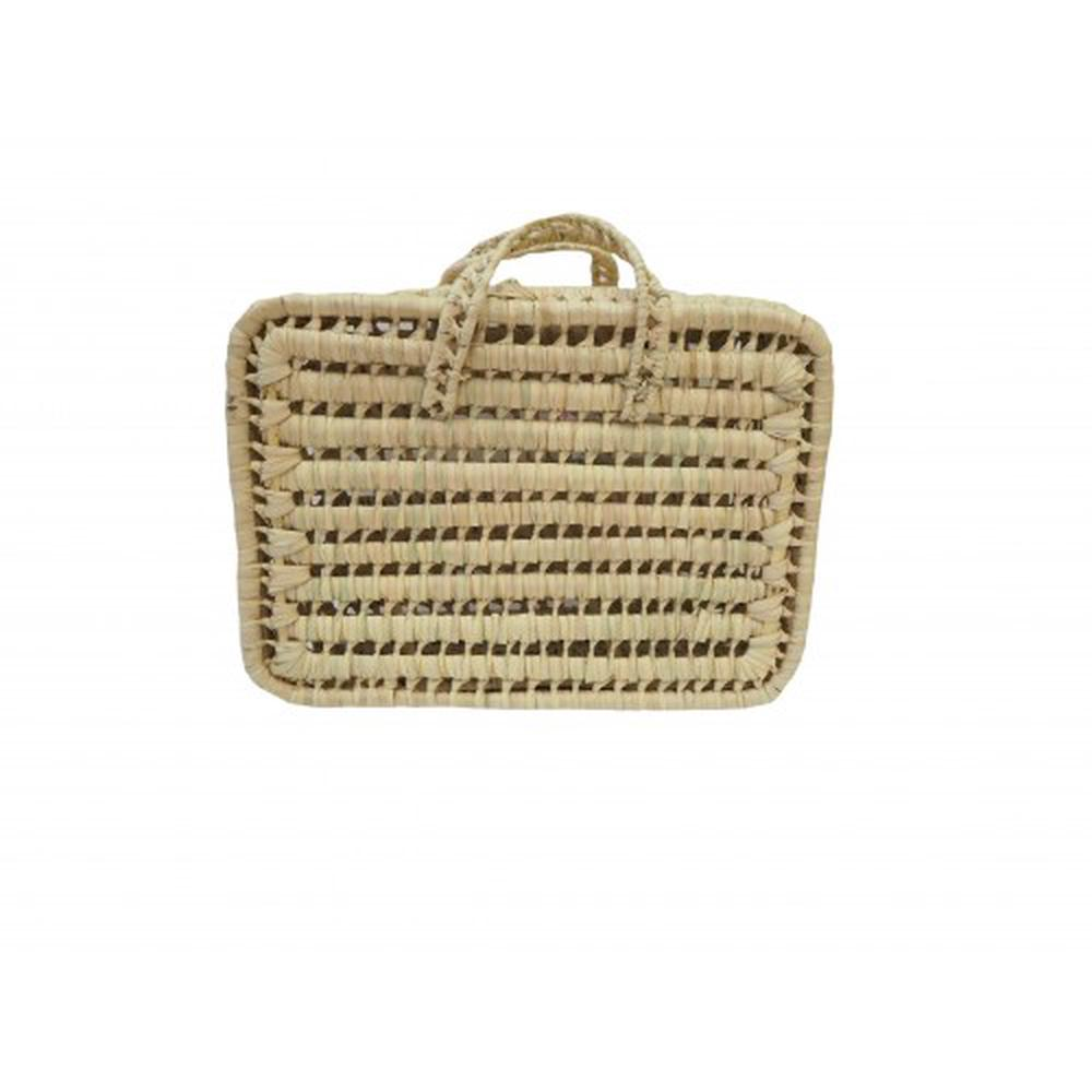Kikadu Palm Leaves Suitcase - 40cm
