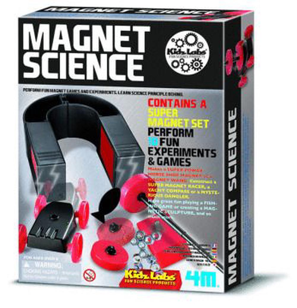 4M Kidz Labs - Magnet Science