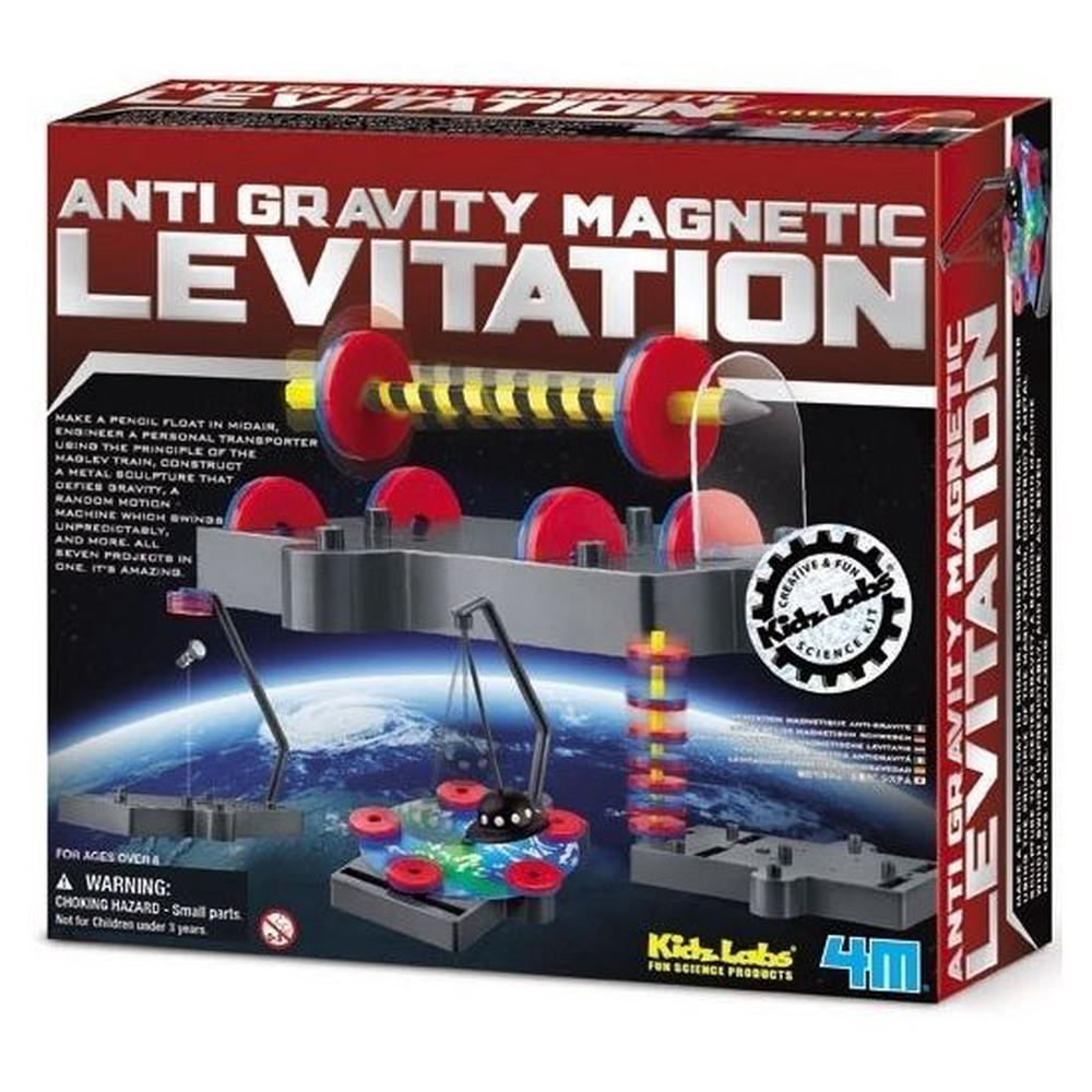 4M Kidz Labs - Anti Gravity Magnet Levitation Kit