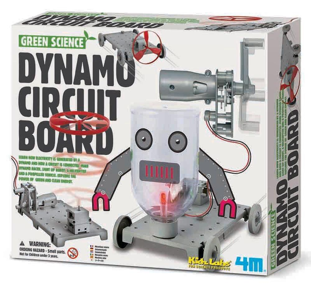 Johnco Productions Green Science Dynamo Circuit Board Buy Online Where To Boards By