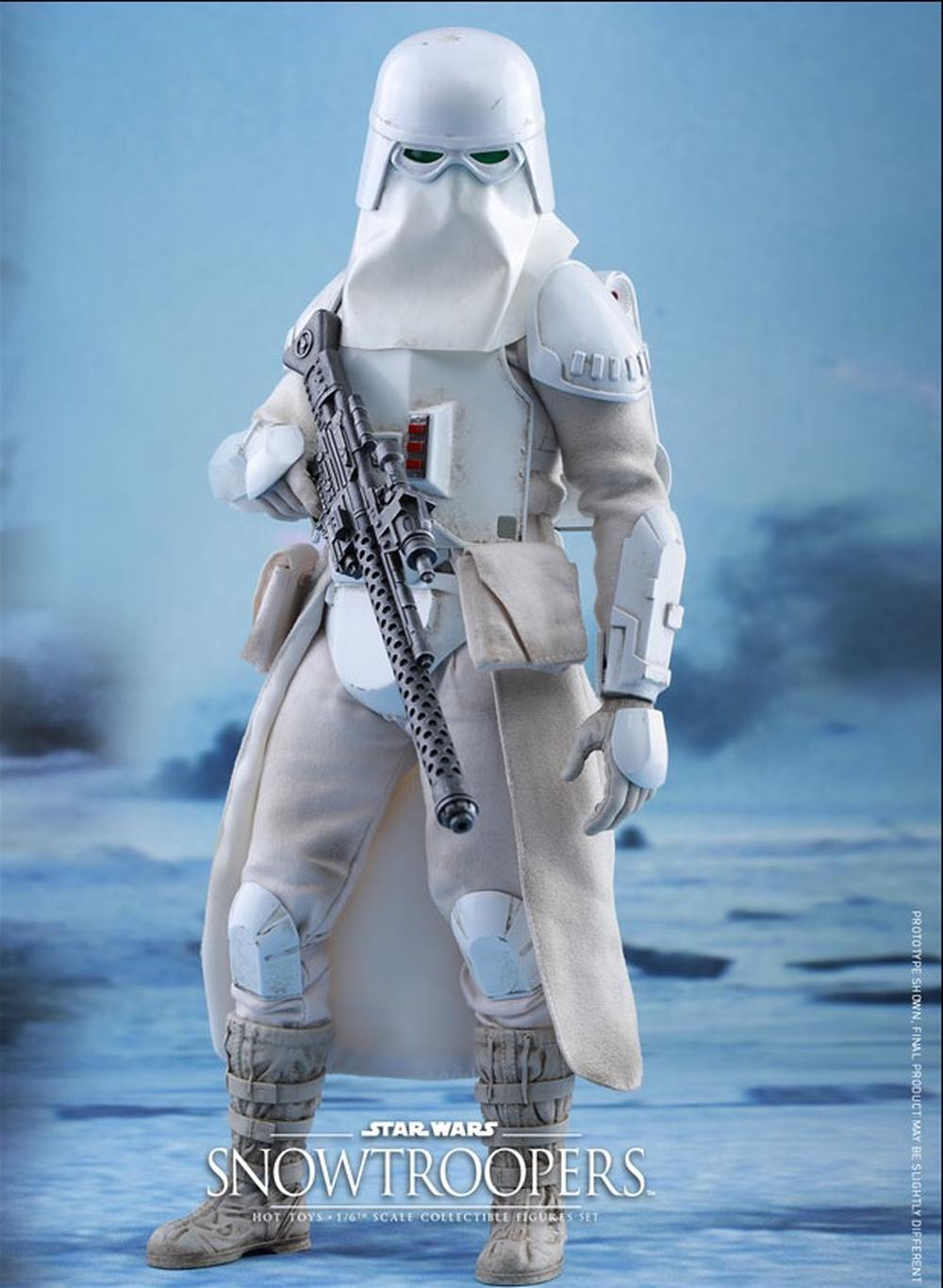 Hot Toys Star Wars Snowtrooper Action Figure Set 16 Scale Buy 1 6 Online At The Nile