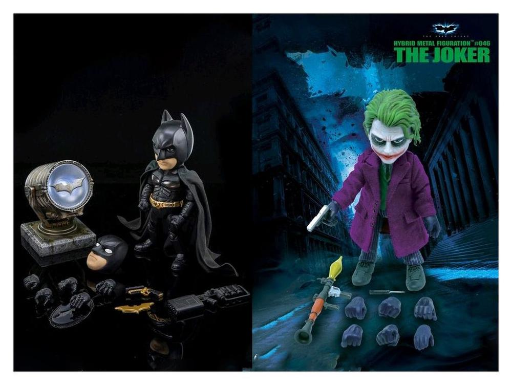 Dark Knight Collectible 14cm Figure New Herocross HMF#046 Joker