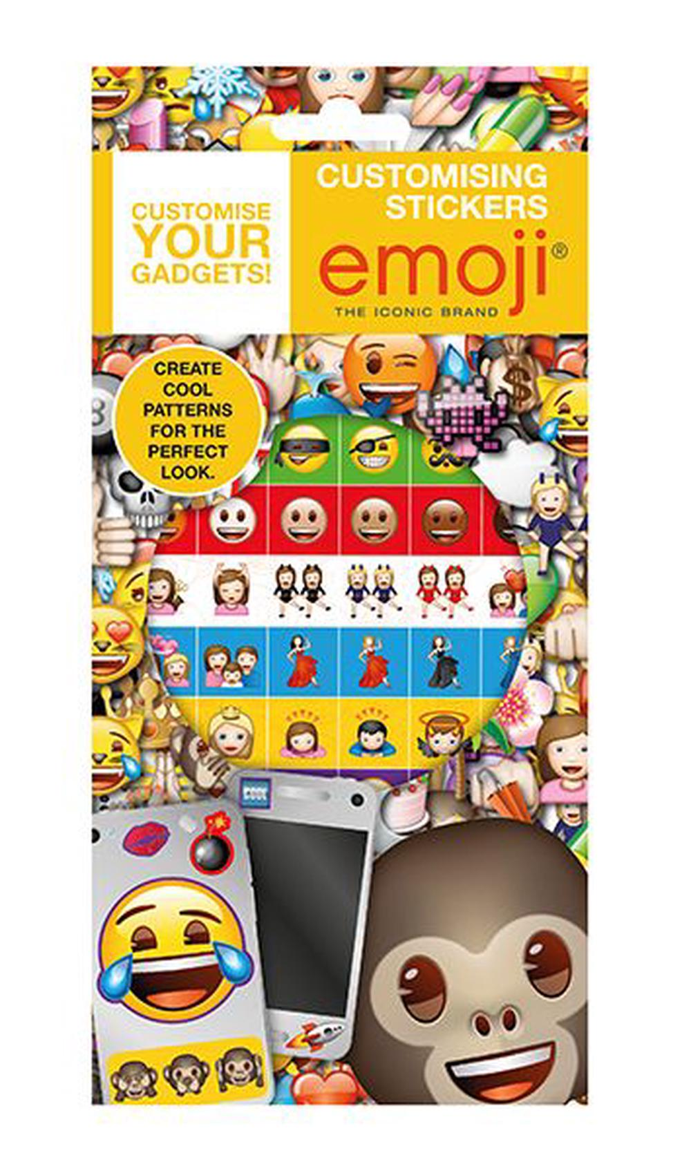 Emoji Customising Stickers | Buy online at The Nile
