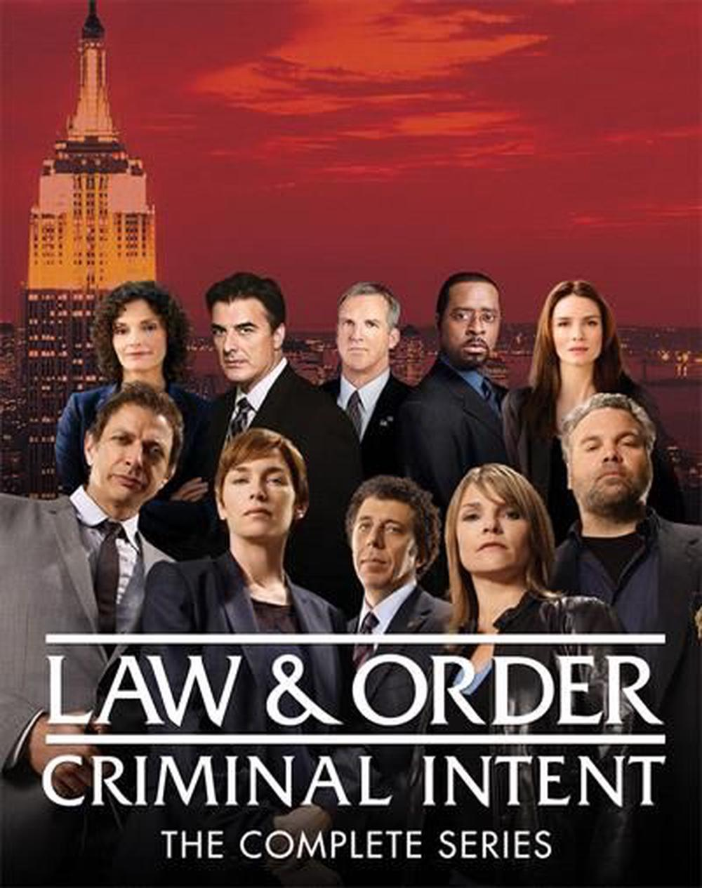 Law And Order - Criminal Intent | Series Collection