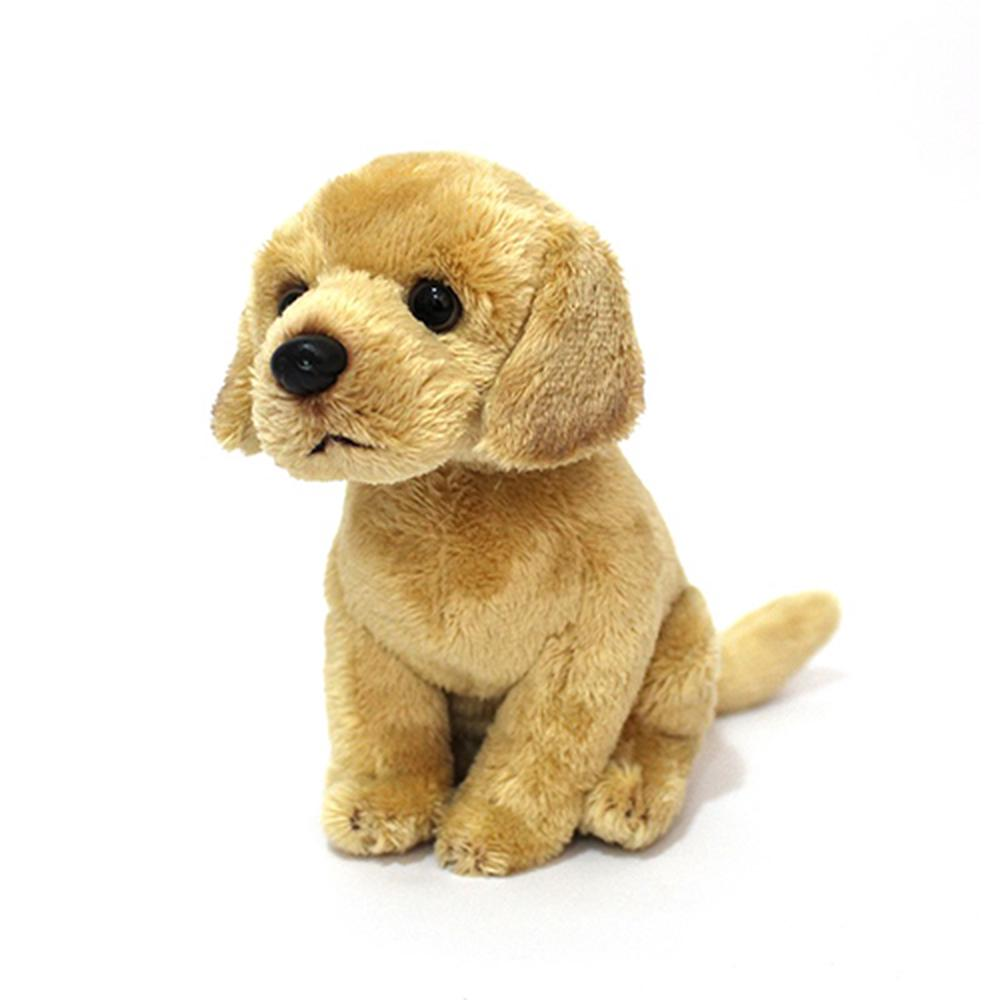 Cuddly Critters Dog Bailey Junior Sitting Yellow Labrador