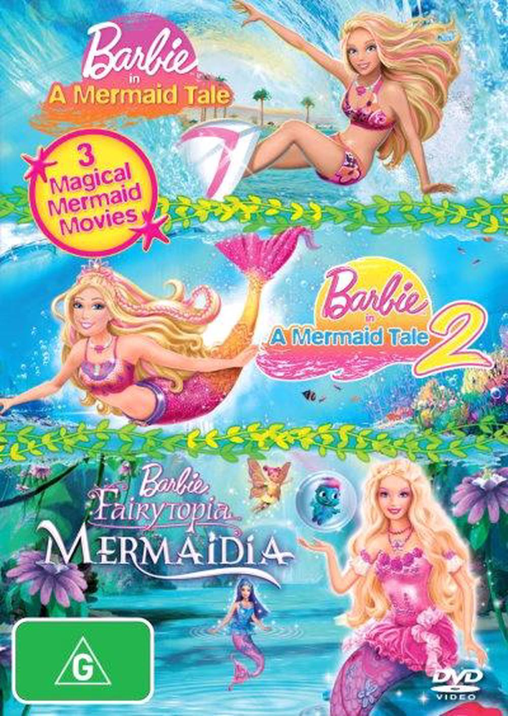 Barbie In A Mermaid Tale / Barbie In A Mermaid Tale 2 / Barbie - Fairytopia - Mermaidia